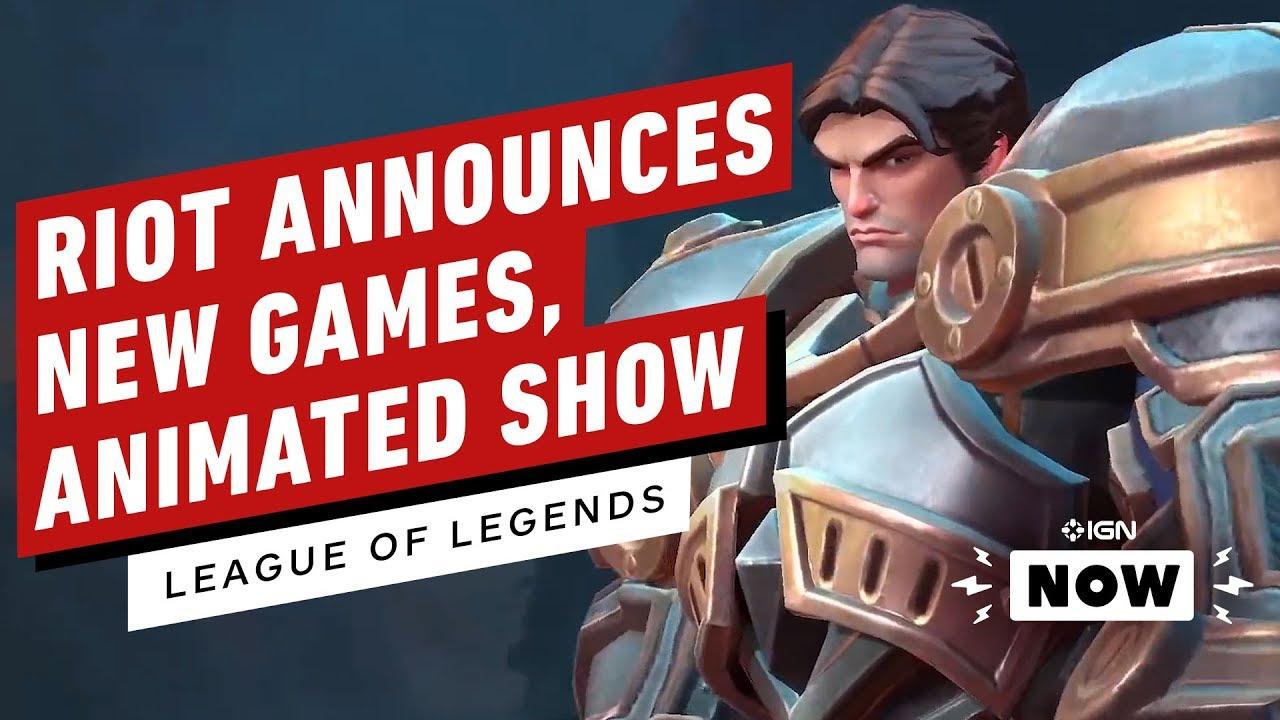 Tout a été annoncé lors de la célébration du 10e anniversaire de League of Legends de Riot - IGN Now + vidéo
