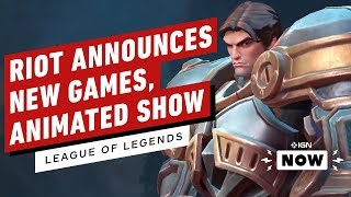 Everything Announced at Riot's League of Legends 10th Anniversary Celebration - IGN Now