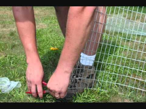 how I built all metal rabbit cages