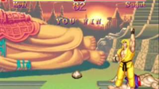 Super Street Fighter II arcade Ken 2/2