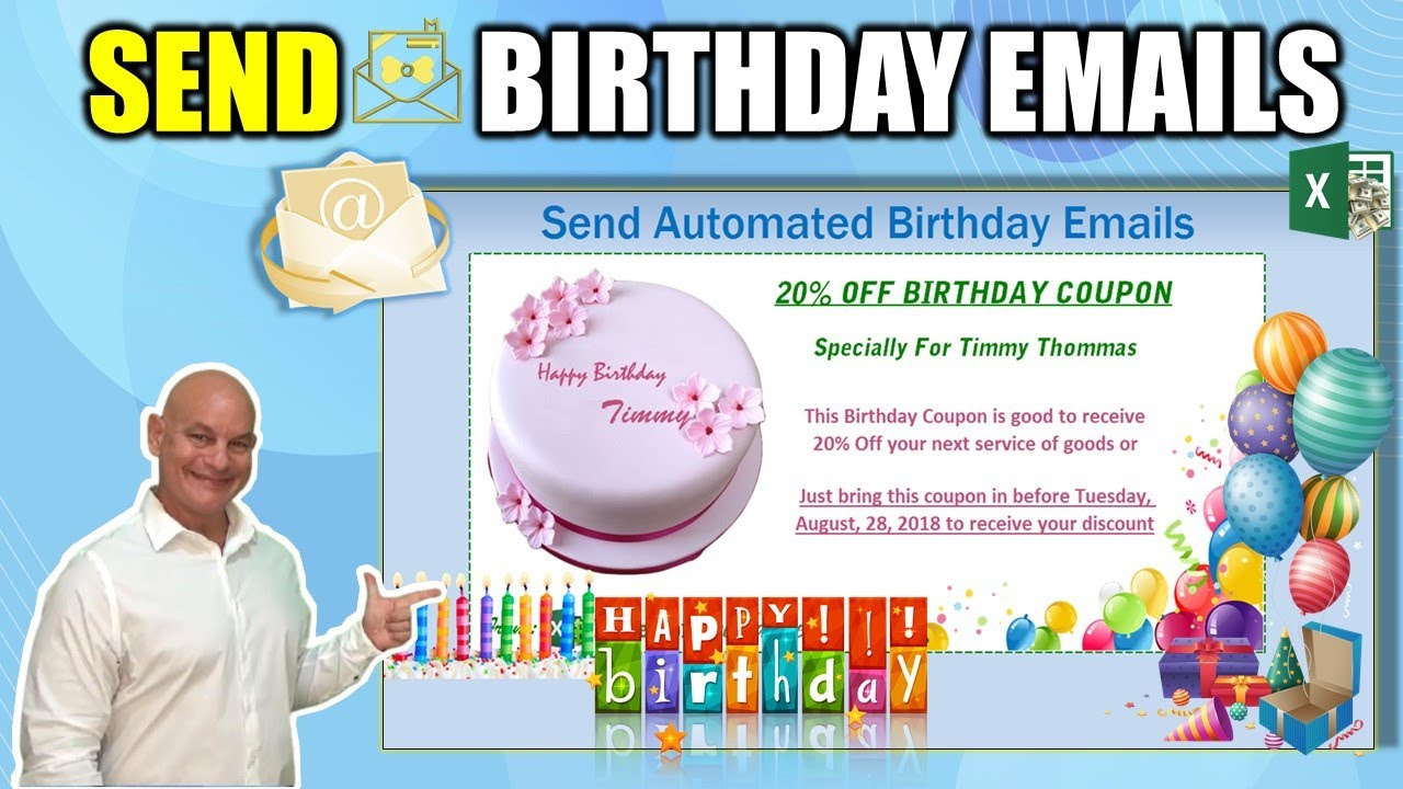 How To Automatically Send Customized Birthday Emails With