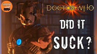 DID IT SUCK?   Doctor Who [THE HAUNTING OF VILLA DIODATI REVIEW]