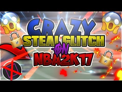 NBA 2K17 OVERPOWERED STEAL GLITCH | STEAL EVERY SINGLE TIME *100% WORKING*  GAME BREAKING