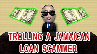 Trolling A Jamaican Loan Scammer Prank Call  - The Hoax Hotel