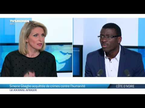 L'avocat de Simone Gbagbo, Ange Rodrigue Dadje, s'exprime sur TV5 Monde