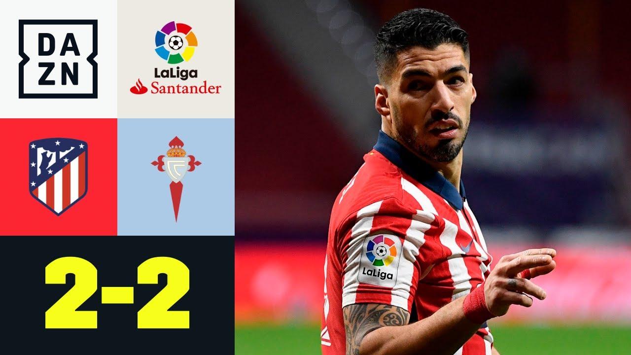 Vigo schockt Doppelpacker Suarez und Atletico spät: Atletico Madrid - Celta  Vigo 2:2   LaLiga