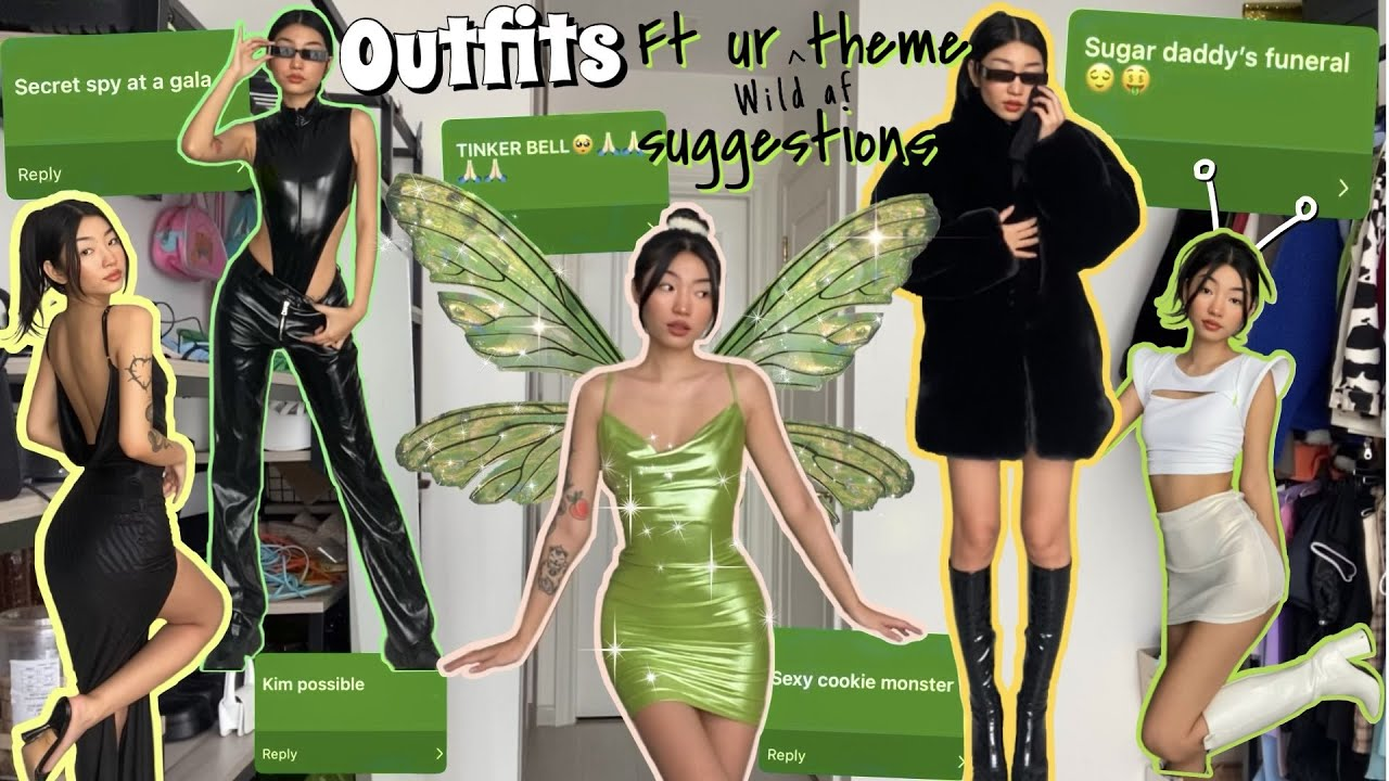 10 OUTFITS IDEAS ft your theme suggestions