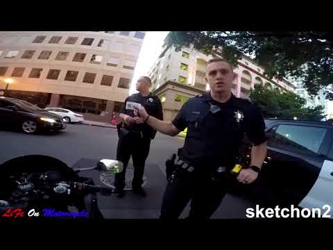 POLICE vs. BIKERS 2017 Police Chase, Getaways & Pullovers! 2017 [Ep #29]