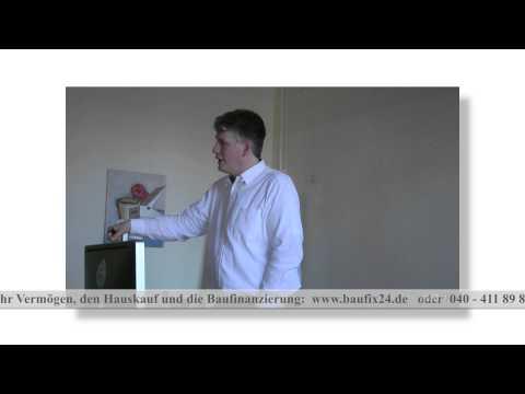 Wissensvideo 49 Fertighaus Baufinanzierung Hamburg Unabhängiger Finanzberater Hamburg