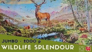 Jigsaw Puzzle Time Lapse - Wildlife Splendour, by Jumbo - 2000 pieces
