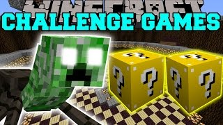 Minecraft: CREEPER SPIDER MUTATION CHALLENGE GAMES - Lucky Block Mod - Modded Mini-Game