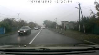 Авария в Александровке!