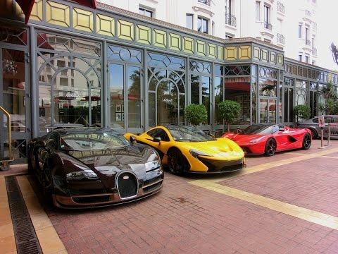 Hypercar Trio : Bugatti Veyron Rembrandt, McLaren P1, LaFerrari