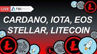 ТОП 5: Litecoin, Cardano, Lumen, EOS, IOTA | Прогноз цены на Лайткоин, Кардано, Люмен, Криптовалюты
