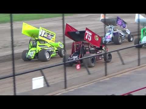 Canandaigua Speedway Brandyn Griffin  heat race 8/26/17