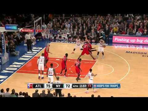 Atlanta Hawks vs New York Knicks | November 10, 2014 | NBA 2014-15 Season
