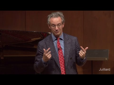 Q&A with Fabio Luisi | Juilliard Fabio Luisi Vocal Arts Master Class