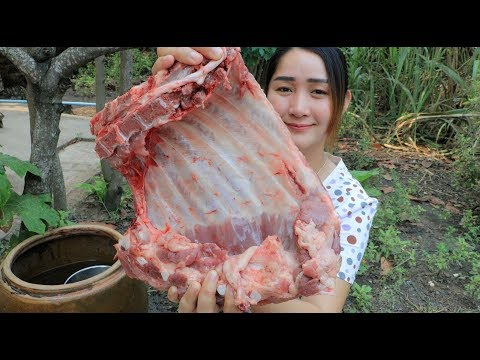Yummy Pork Ribs Grilling Recipe – Pork Ribs Cooking – Cooking With Sros