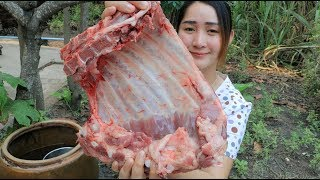 Yummy Pork Ribs Grilling Recipe - Pork Ribs Cooking - Cooking With Sros