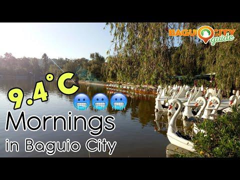 Cold Morning Stroll At Burnham Park, Baguio City | Baguio City Guide | Baguio Vlog