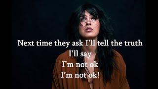 Maria Mena -  Not Ok (Lyrics)