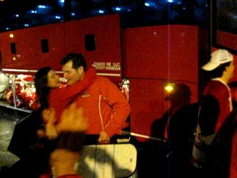 2010 Super 8 Champions - Hingham Harbormen Hockey Team Returns to Pilgrim