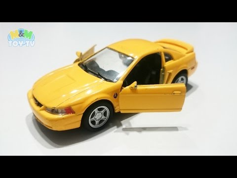 Series of Unboxing and Presenting Diecast Cars. PART TWELVE (12) - Ford Mustang 1999 - WELLY