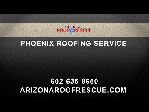 Phoenix Area Roofing Service AZ Roof Rescue
