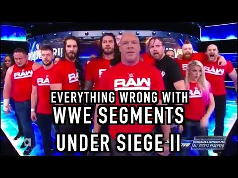 Episode #282: Everything Wrong With WWE Segments: Under Siege II
