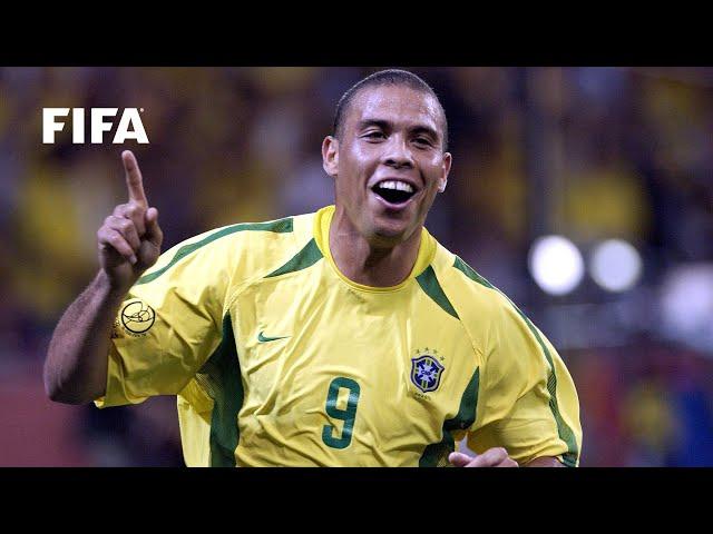 Ronaldo: Through the years with Brazil
