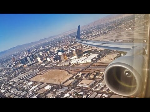 First Class!! Powerful American 737 Takeoff From Las Vegas!!