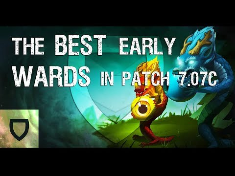 The Best Early Game Wards in Patch 7.07c | How To Play Dota 2 | PVGNA.com