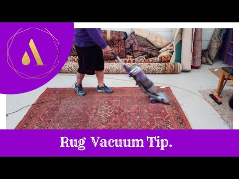 Friendly Tip on how best to Vacuum your area rug.