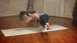Eight Angle Pose / Astavakrasana in Yoga