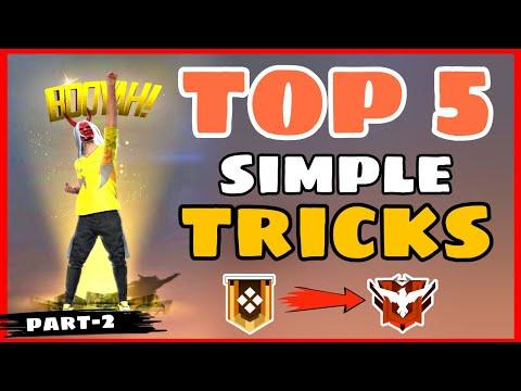 Top 5 Simple Tricks FreeFire || Part -2 Garena Free Fire || Tips and Tricks FreeFire -4G Gamers