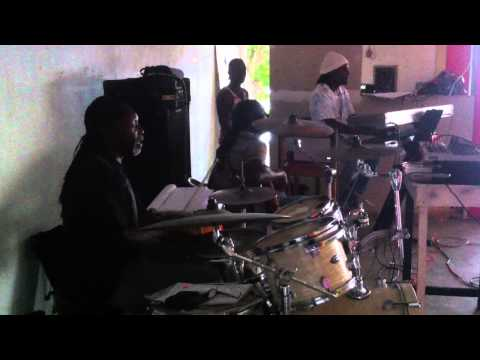 Band Riddim 2000 rehearsal for Mighty Diamonds-Have mercy