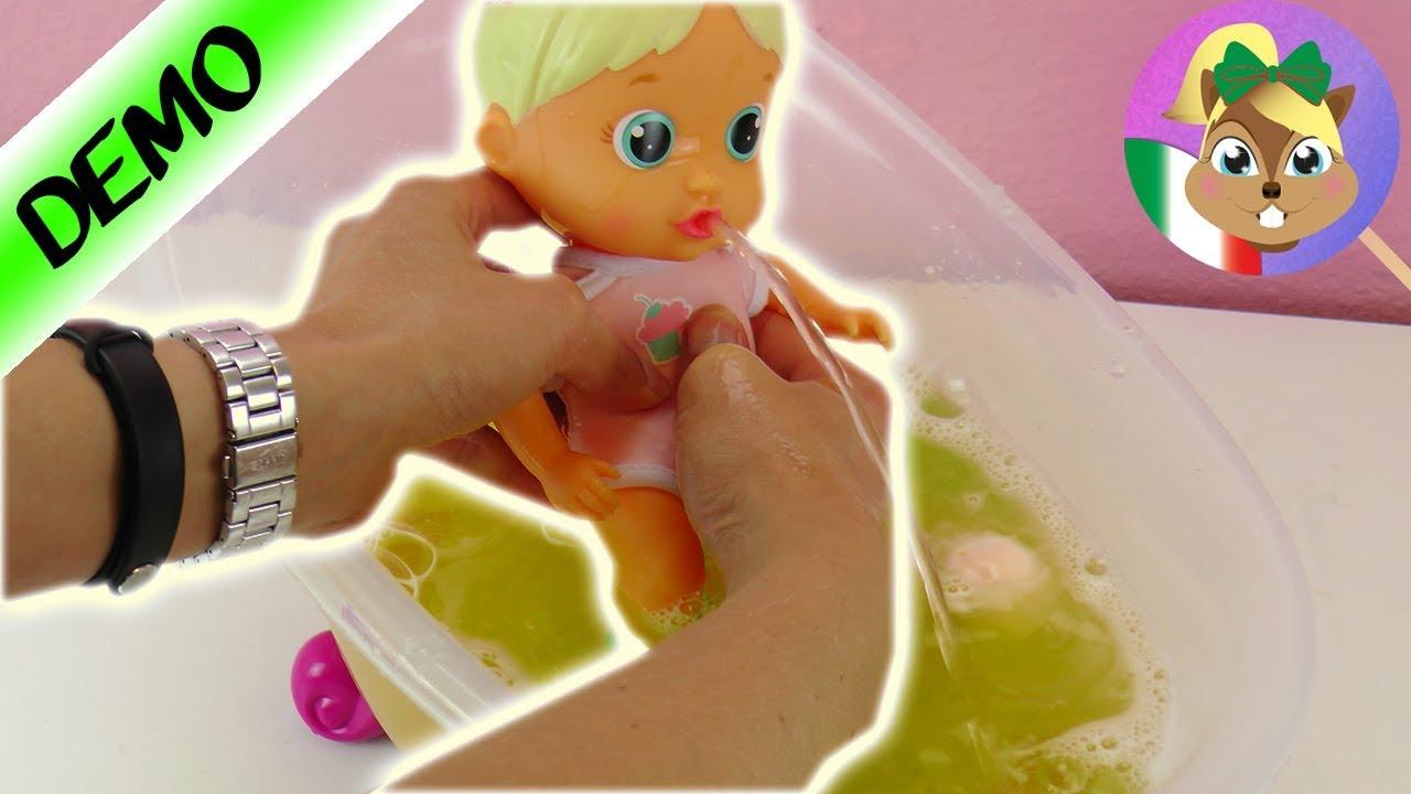 Bloopies Bath! - Bambola con 3 modalità: spruzza acqua - YouTube