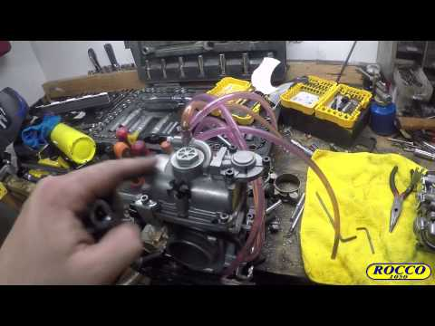 How to install a FCR39 carb on a DRZ400 S or SM