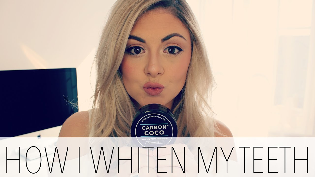 How I Whiten My Teeth Carbon Coco Review  Loved By Steph - YouTube