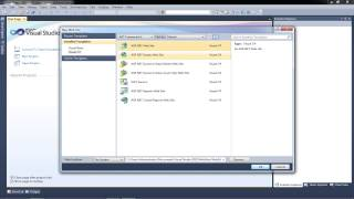 Tutorial: How To Create A Website in ASP.NET (Step By Step Guide)   Part 1   .NET 4.0   VS 2010