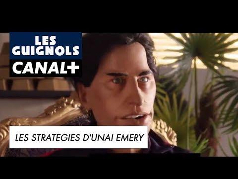 Les stratégies d'Unai Emery sont infaillibles  - Les Guignols - CANAL+