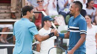 Roger Federer vs Nick Kyrgios ATP Stuttgart 2018 SF ᴴᴰ