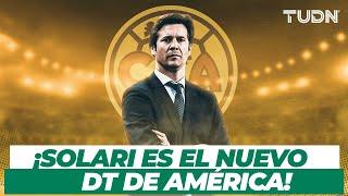 ¡OFICIAL! 🚨 Santiago Solari se convierte en el nuevo entrenador de América I TUDN