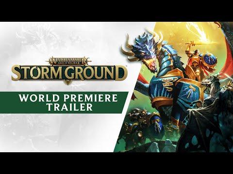 Warhammer Age of Sigmar: Storm Ground   World Premiere Trailer