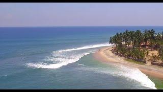 Arugam Bay Aerial View in 4K