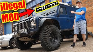DO NOT Use This MOD on the Public Road Land Rover Defender 110