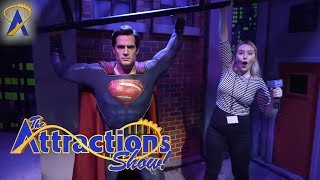 The Attractions Show! - Justice League at Madame Tussauds; ICON Roller Coaster; latest news thumbnail