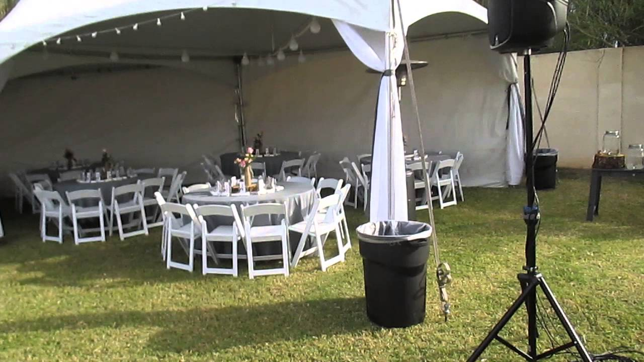 Dancing Under the Stars  - Backyard Tent Wedding & Dancing Under the Stars