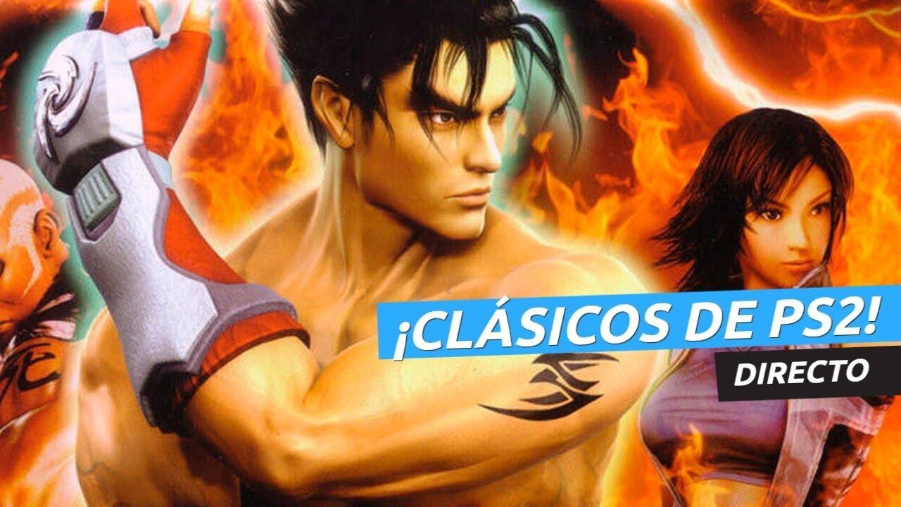 ¡Probamos varios juegos clásicos de PS2 en directo! Desde Tekken... ¡Hasta Torrente!