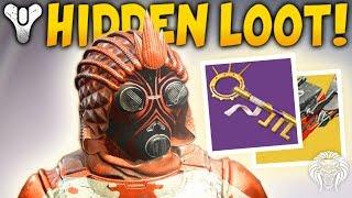 Destiny 2: NEW HIDDEN CHESTS & TREASURE KEY! Fake Loot Trick, Level Up Fast & Secret Hive Puzzle